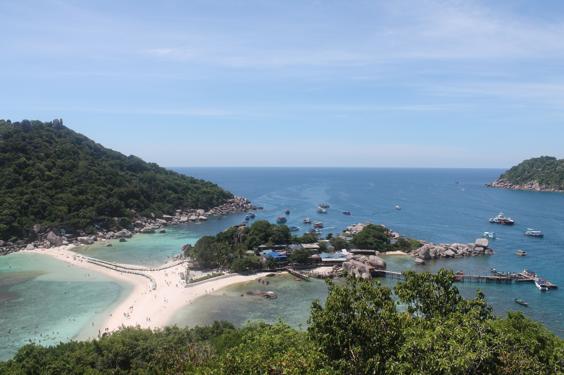 Koh Nang Yuan Viewpoint, Koh Tao, Thailand