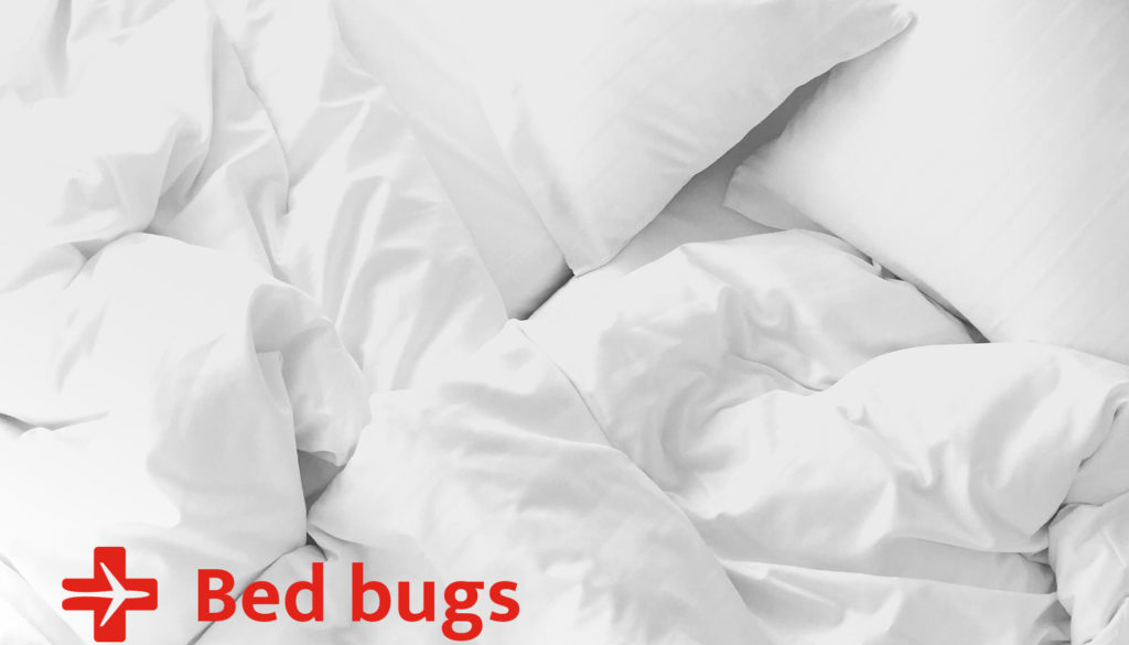bed bugs, travel clinic vancouver, travel advice, travel allergies
