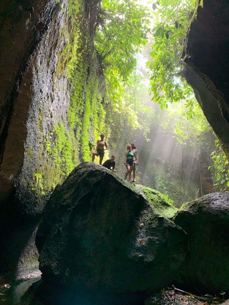 TukadCepung(waterfall/canyon area)